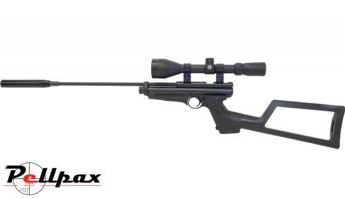 Crosman 2250 Ratcatcher - .22 Pellet CO2 Rifle + Bag + Scope (3-9 x 56) - Second Hand