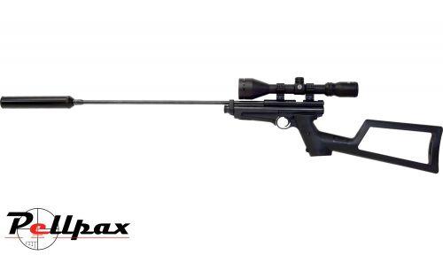 Crosman Ratcatcher 2250 XL Buntline Special Night Hunter CO2 Air Rifle - .22