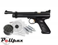 Crosman 2240 Rat Buster Kit - .22 Pellet Air Pistol
