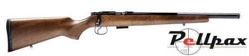 CZ 455 Varmint Walnut -  22 LR Screw Cut Barrel - Rim Fire Rifles