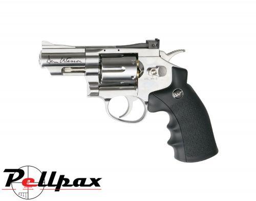 "Dan Wesson 2.5"" Silver - 4.5mm BB Air Pistol"