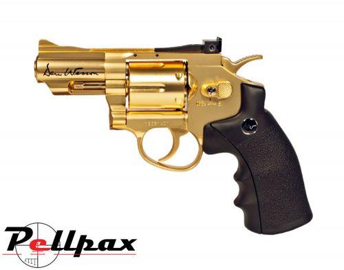 "Dan Wesson 2.5"" Gold - 4.5mm BB Air Pistol"