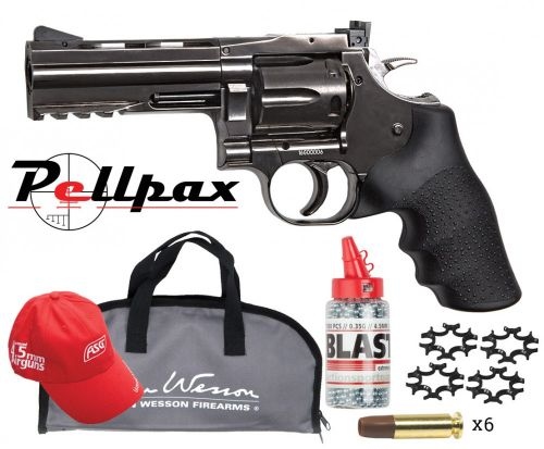 """Dan Wesson 715 4"""" Grey - 4.5mm BB - Complete Kit!"""