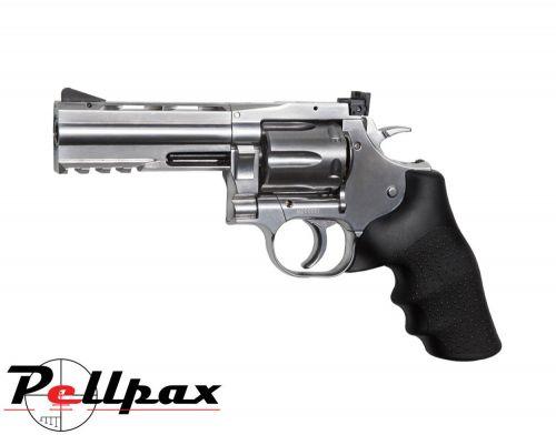 "Dan Wesson 715 4"" Silver - .177 Pellet Air Pistol"