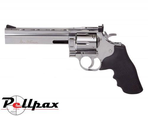 "Dan Wesson 715 6"" Silver - 4.5mm BB Air Pistol"