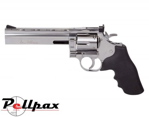 "Dan Wesson 715 6"" Silver - 4.5mm BB Air Pistol"