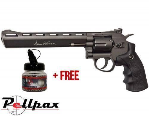 "Dan Wesson 8"" Black - 4.5mm BB Air Pistol"