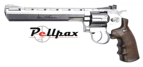 """Dan Wesson 8"""" Silver CO2 6mm Airsoft"""