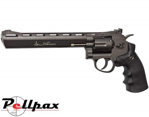 """Dan Wesson 8"""" Black - .177 Pellet Air Pistol"""