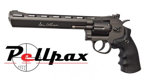 """Dan Wesson 8"""" Black CO2 6mm Airsoft"""