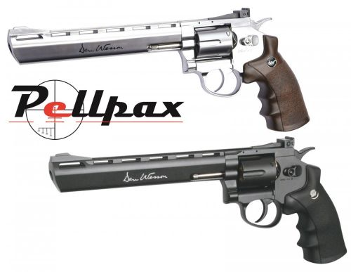 """Dan Wesson 8"""" Black and Silver Combo Kit"""