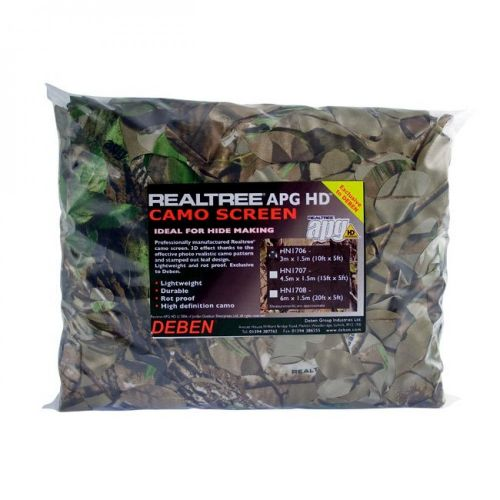 Deben Realtree Advantage Timber Camo Screen 4.5m x 1.5m