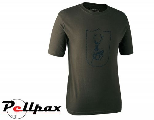 Deer Logo T-Shirt By Deerhunter
