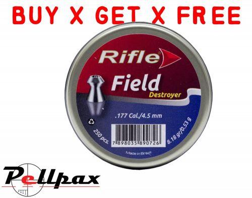 Rifle Field Destroyer - .177 x 250 - Buy x Get x Free!