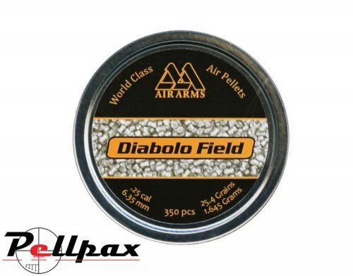 Air Arms Diabolo Field .25 (6.35) Pellets x 350