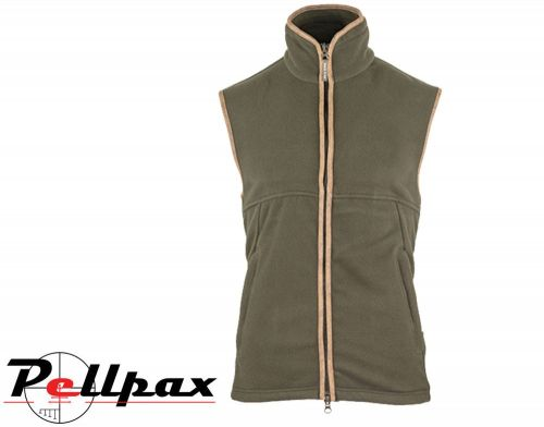 Countryman Fleece Gilet By Jack Pyke in Dark Olive