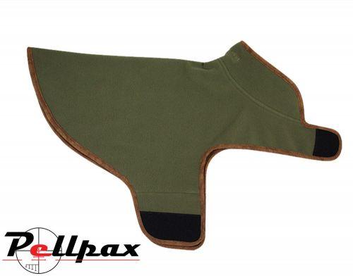 Fleece Dog Coat By Jack Pyke Light Olive