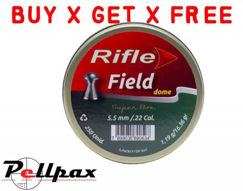 Rifle Field Dome - .22 x 250 - Buy x Get x Free!