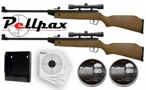 Double XS15 Rifle Combo Kit .177