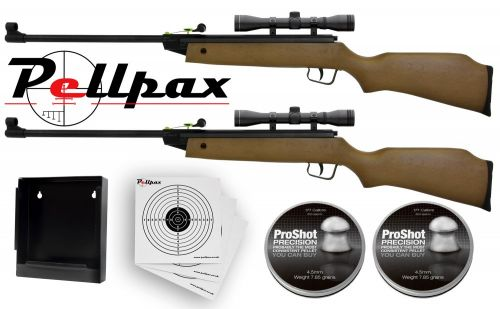Double XS15 Rifle Combo Kit .177