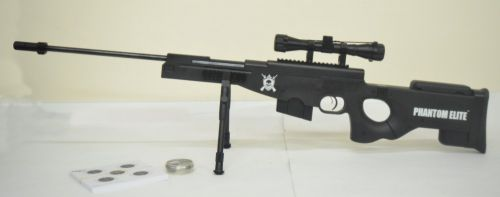 Nova Vista Phantom Elite Sniper - Black .177 Second Hand