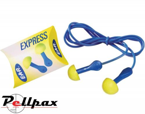 3M E-A-R Express Corded Ear Plugs