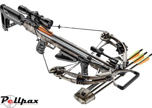 EK Archery Accelerator 390+ Compound Crossbow - 185lbs