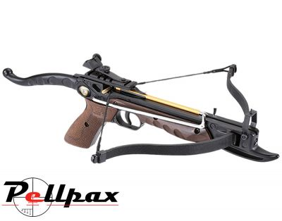 EK Archery Cobra 80lbs Aluminium Pistol Crossbow - Wooden Stock