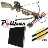 Ek Archery 175lbs Jaguar Crossbow Combo Kit!