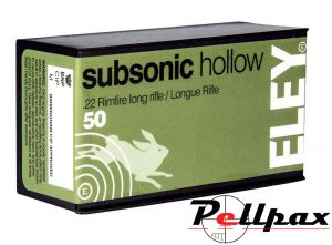 Eley Subsonic Hollow - .22LR