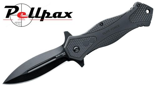 Elite Force EF140 Folding Knife - 88mm Dagger Blade
