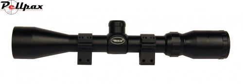 BSA Essential 3-9x40 With Mounts - Mil Dot Reticle