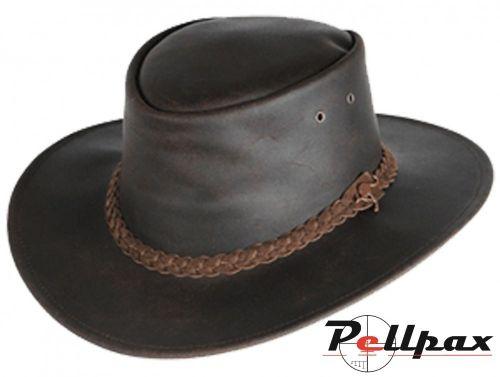 Down-Under Soft Leather Bush Hat