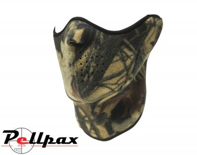 Quietwear Neo Fleece Half Mask - for Airsoft Skiing Hunting Cycling