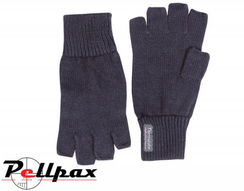 Fingerless Mitts By Jack Pyke in Black