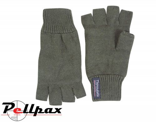 Fingerless Mitts By Jack Pyke in Green