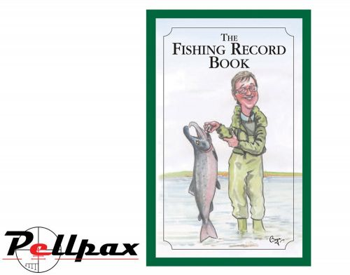 The Fishing Record Book By Bryn Parry