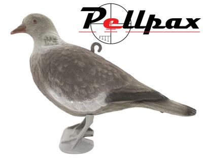 Flocked Pigeon with Legs