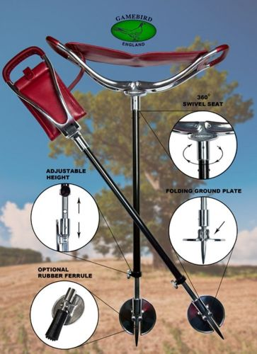 H7 Adjustable Seat Stick with Swivel Head by Gamebird