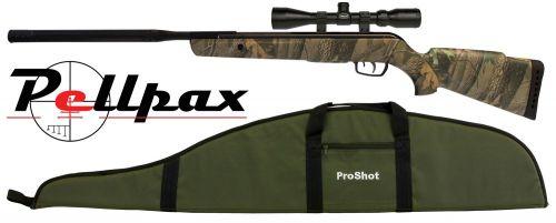 Gamo Camo Rocket IGT Air Rifle .22 - Including Free Scope and Gun Bag!