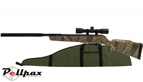 Gamo Camo Rocket IGT Air Rifle .22 - Including Free Scope and Gun Bag!