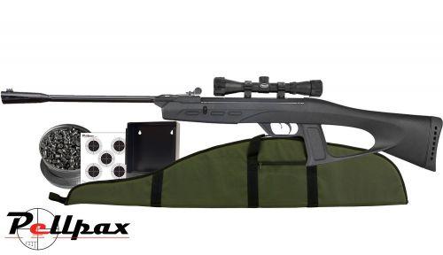 Gamo Delta Fox GT Whisper Combo - .177 Air Rifle
