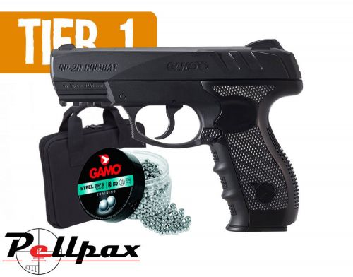 Gamo GP-20 Combo - 4.5mm BB Air Pistol