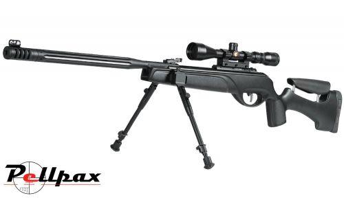 Gamo HPAmi .22 Pellet Gas Ram Rifle + Bag + Scope (3-9 x 40) - Second Hand