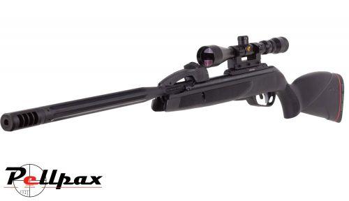 Gamo Maxxim Elite .22 Pellet Gas Ram Rifle + Bag + Scope (3-9 x 40) - Second Hand
