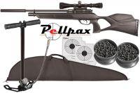 Gamo Phox Silenci Rifle Pack .177
