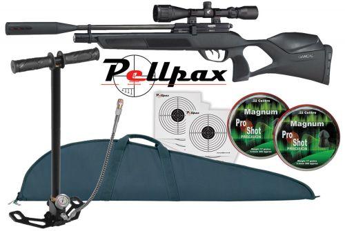 Gamo Phox Rifle Pack .22