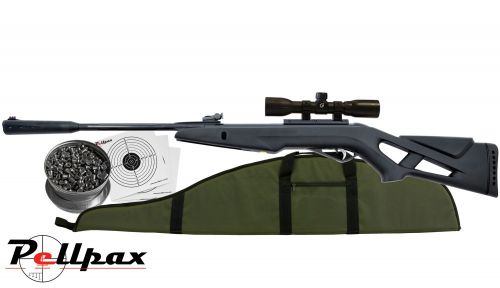 Gamo Whisper IGT Combo Air Rifle Kit  22 - Gas Ram Powered