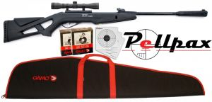 Gamo Whisper IGT Combo Air Rifle Kit .177