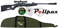 Gamo Whisper IGT Combo Air Rifle Kit .22